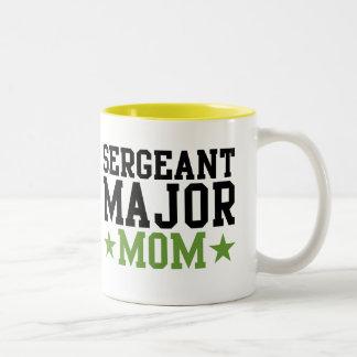 Sergeant Major Mom Two-Tone Mug