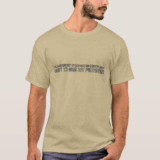 Sergeant See Privates T-Shirt