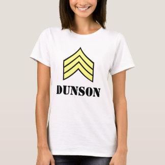 Sergeant Stripes Dunson (Ladies) T-Shirt