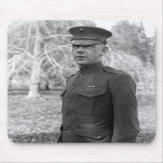 Sergeant's Marine Corps Uniform, 1916 Mousepad