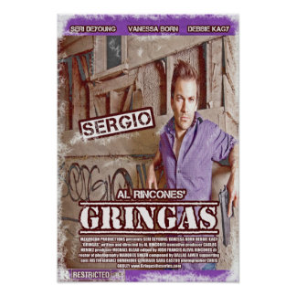 Sergio - Gringas Movie Poster