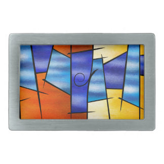 Seria Caloni V1 - the gift Rectangular Belt Buckle