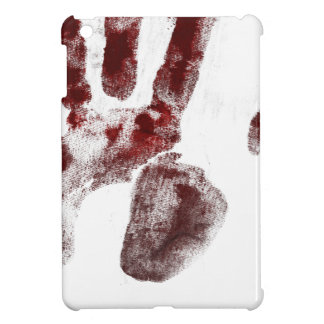 Serial killer blood handprint cover for the iPad mini