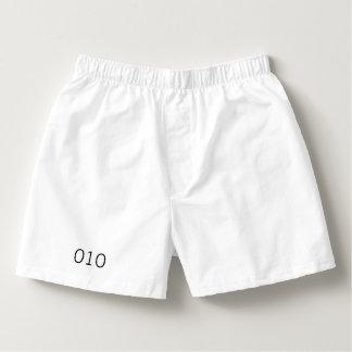 Serial number boxers