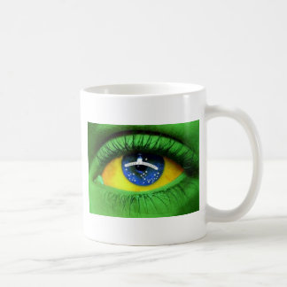 Serie Brasil Classic White Coffee Mug