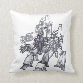 Series 7 Triple Robot Cushion