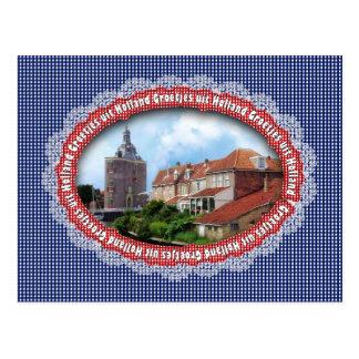 Series: Greetings from Holland - Drommedaris Postcard
