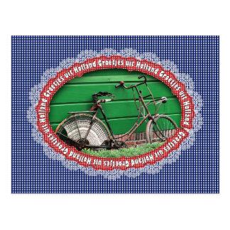 Series: Greetings from Holland - Old Bike Postcard
