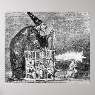 Series 'La Comete de 1857' Poster