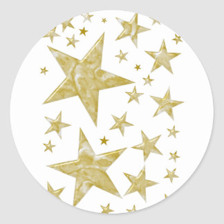 """Series of articles of """"star """" round sticker"""