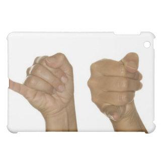 Series of hands making J sign iPad Mini Covers