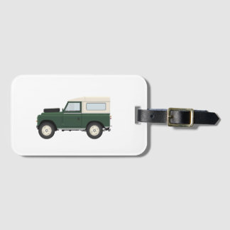 Series Owners Luggage Tag