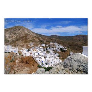 Serifos town – Serifos Photographic Print