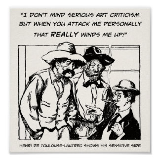 Serious Art Criticism - Archival Print