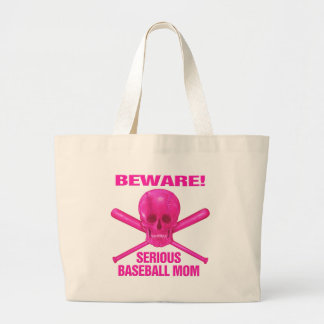 Serious Baseball Mom Tote Bag