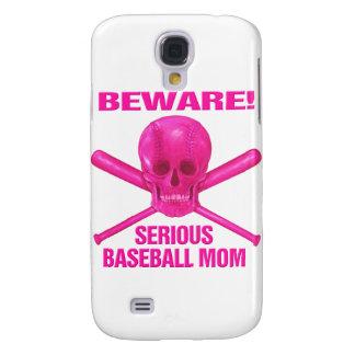 Serious Baseball Mom Samsung Galaxy S4 Covers