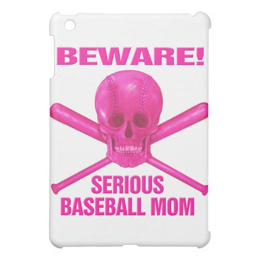 Serious Baseball Mom Cover For The iPad Mini