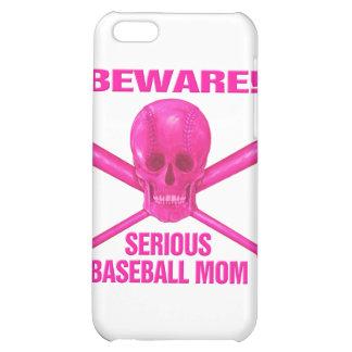 Serious Baseball Mom iPhone 5C Case