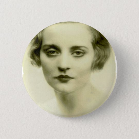 Serious Beauty 6 Cm Round Badge