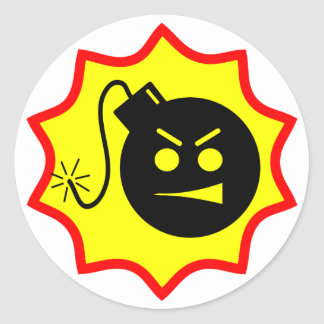 Serious Bomb Stickers