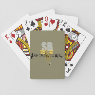 "Serious Business Entertainment ""All Work No Play"" Playing Cards"
