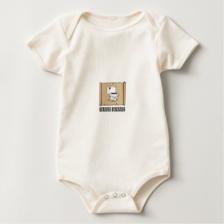 serious business fun baby bodysuit