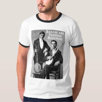 Serious Business Men's Ringer T-shirt
