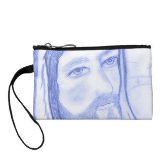 Serious Jesus Change Purses