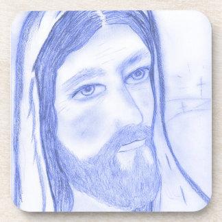 Serious Jesus Coaster