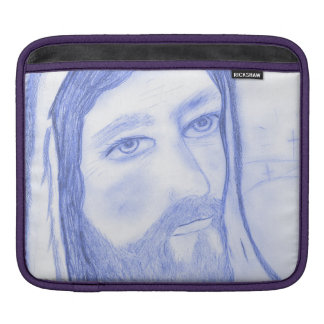 Serious Jesus iPad Sleeve