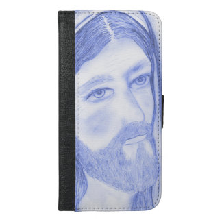 Serious Jesus iPhone 6/6s Plus Wallet Case