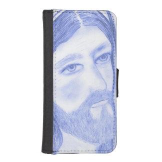 Serious Jesus iPhone SE/5/5s Wallet Case