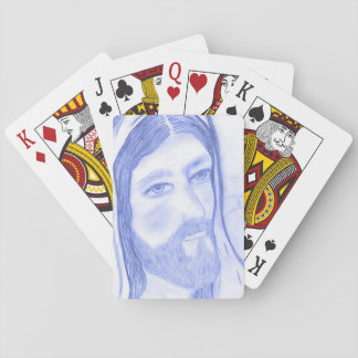 Serious Jesus Poker Deck