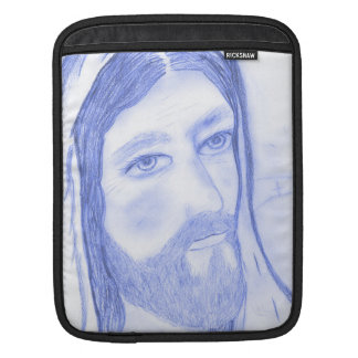 Serious Jesus Sleeve For iPads