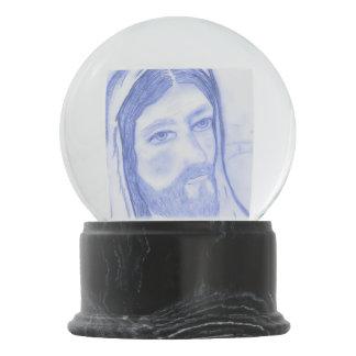 Serious Jesus Snow Globe