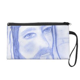 Serious Jesus Wristlet