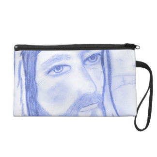 Serious Jesus Wristlet Clutch
