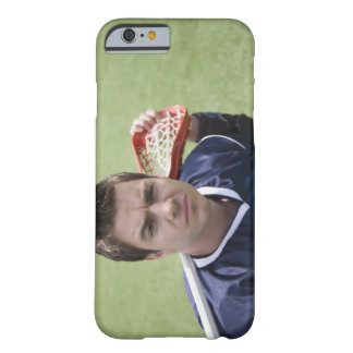 Serious lacrosse player barely there iPhone 6 case
