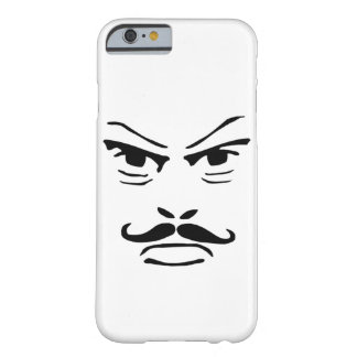 Serious Moustache Man Barely There iPhone 6 Case