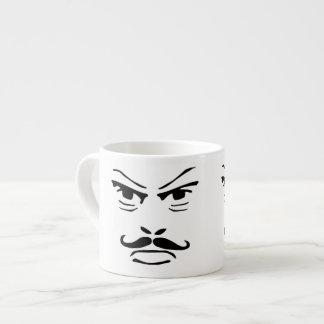 Serious Moustache Man Espresso Mug