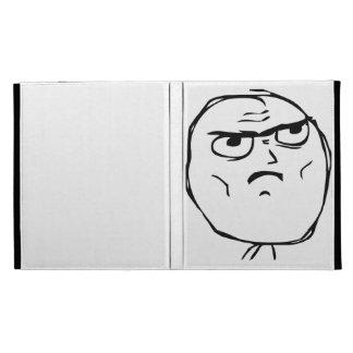 Serious Not Okay Comic Face iPad Folio Cases