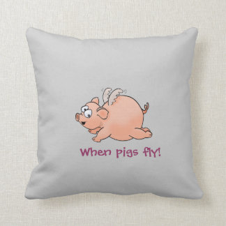 Serious R&R when pigs fly! Cushions