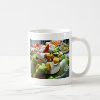 Serious salad coffee mug