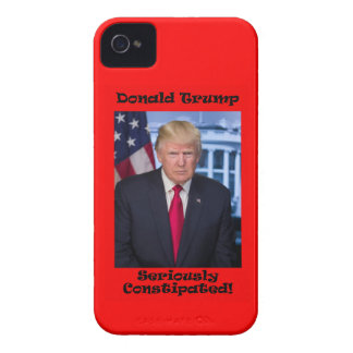 Seriously Constipated - Anti Trump iPhone 4 Covers