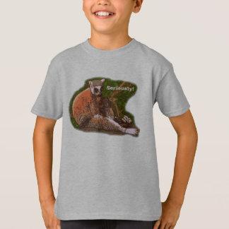 Seriously Lemur Kids' Tshirt