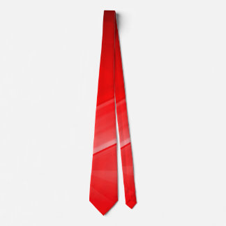Seriously Manly Man Custom Men's Red Satin Tie