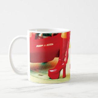 Seriously Red Basic White Mug