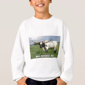 Seriously, that is a lot of Bull Sweatshirt