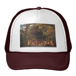 Sermon Of John The Baptist By Adam Elsheimer Hats