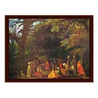 Sermon Of John The Baptist By Adam Elsheimer Postcard